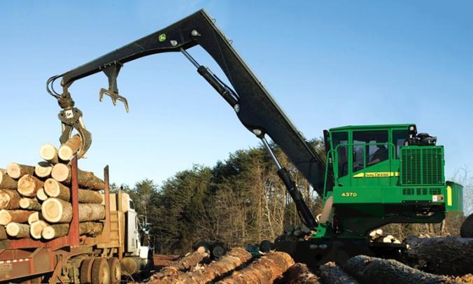 new log loader
